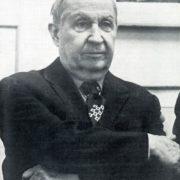 Soviet artist Porphyry Krylov (9 August 1902 - 15 May 1990)