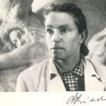 sculptor Alexandra Briedis