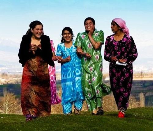 Tajik women