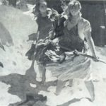 Painting by Soviet Russian artist Viktor Kabanov