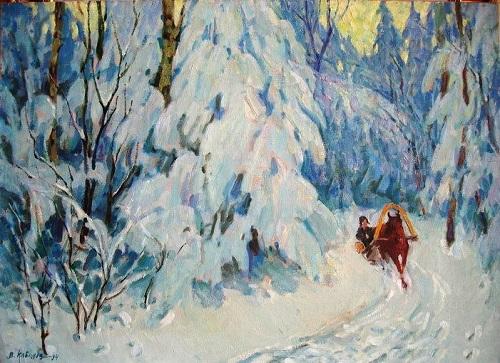 Winter, 1994. Oil on canvas