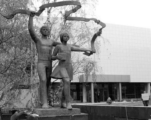 Youth. Bronze, 1971, Ulyanovsk