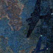 Bombers at night. Mosaic on the Mayakovskaya metro station. 1938. Detail