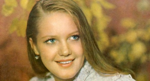 Soviet actress Elena Proklova