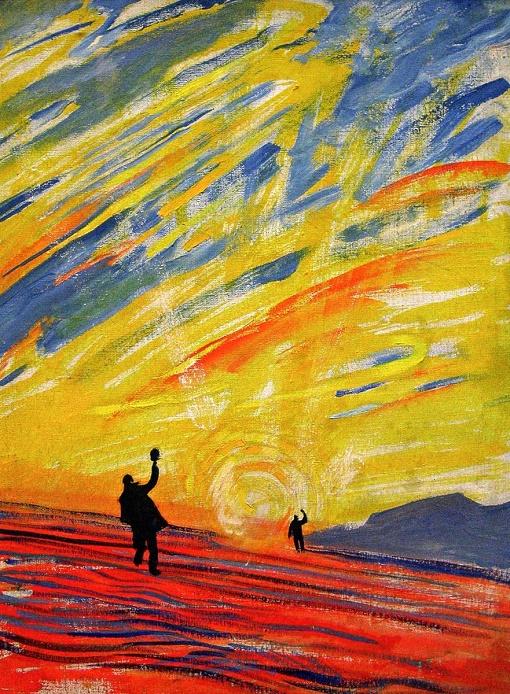 Soviet artist Andrey Yakovlev. Hello, Sun. 1961. Murmansk Regional Art Museum
