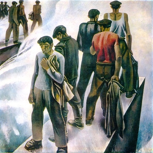 New sea. 1970. Oil on canvas. State Prize of Azerbaijan SSR (1970)