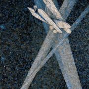 Searchlight. Mosaic on the Mayakovskaya metro station. 1938. Detail