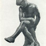 Sitting boy. 1909