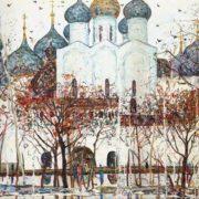 Spring in Rostov Kremlin