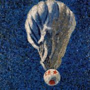 Stratospheric balloon. Mosaic on the Mayakovskaya metro station. 1938. Detail