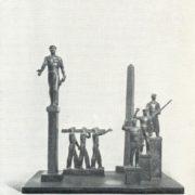 The project of a monument in Dauria. 1931