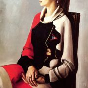 Woman's portrait. 1984