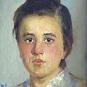 1953 portrait of a young woman