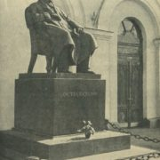 A.N. Ostrovsky monument. 1929. Moscow