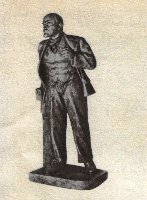Aleksandr Kibalnikov. Monument to V.I. Lenin. 1939