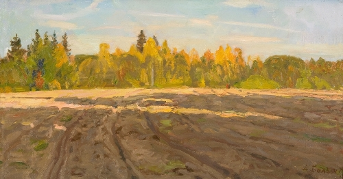 Alexey Belykh (1923). Evening comes. 1979