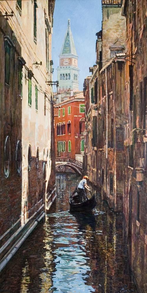 Morning in Venice. 1976