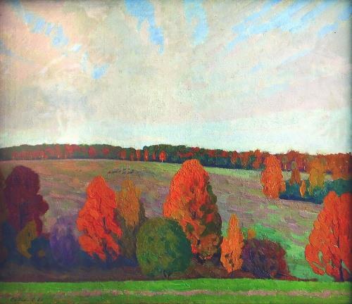 Autumn morning. 1985