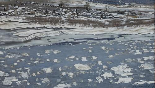 Drifting of ice