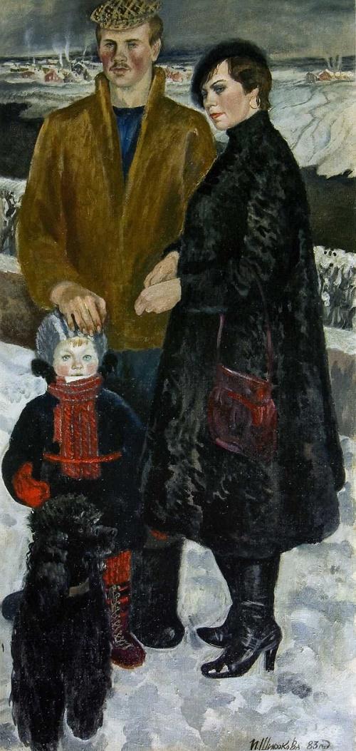 Family portrait, 1983