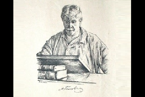 Georgy Vereisky (1886 - 1962). Portrait of the Artist A.Ya. Golovin. 1926