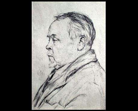 Georgy Vereisky (1886 - 1962). Portrait of the artist A.A.Rylov