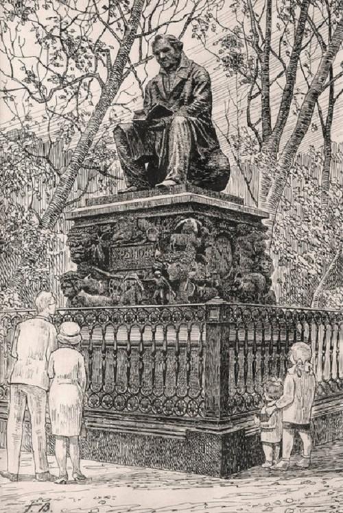 Georgy Vereisky. Monument to Krylov