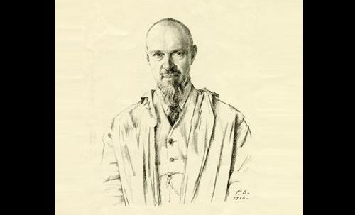 Georgy Vereisky. Portrait of Konstantin Yuon. 1926