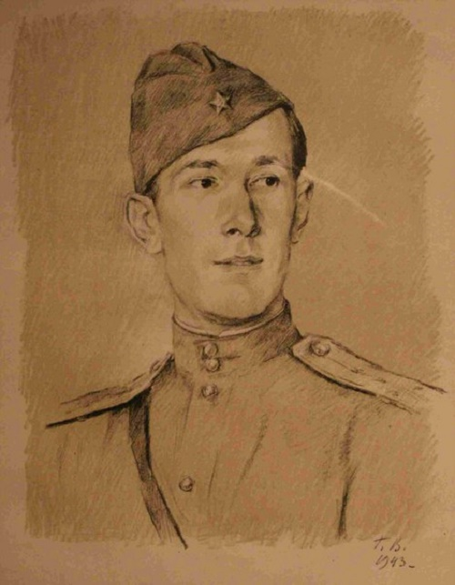 Georgy Vereisky. Portrait of Orest G. Vereisky. 1943