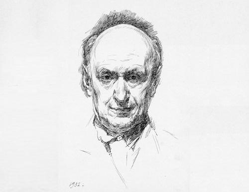 Georgy Vereisky. Self-Portrait. 1952