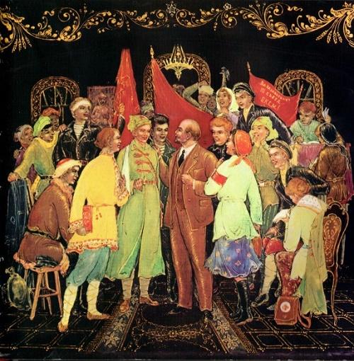 Lenin in Palekh