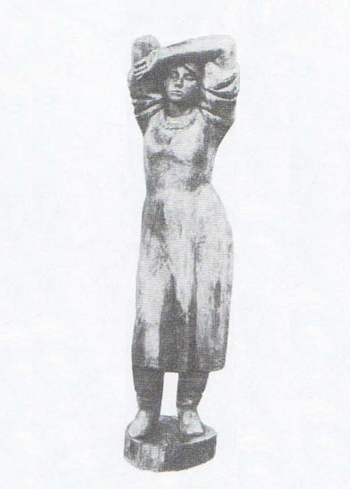 M. Smirnov. In the field. Wood. 1980