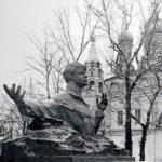 Soviet sculptor Aleksandr Kibalnikov