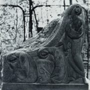 The tombstone of NL Tarasova. 1912. Moscow, Vagankovo (Armenian) Cemetery