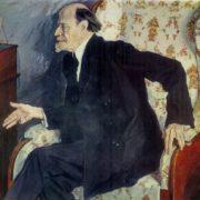 artist M.V. Nesterov. 1939