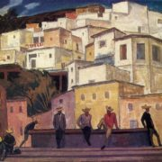 Guanajuato. Noon. 1965. Oil on cardboard