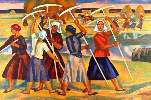 Ryazan meadows. 1962-1967. Canvas, oil. State Tretyakov Gallery