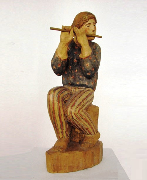 Shepherd with flute