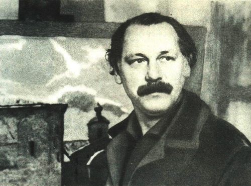 Soviet artist Vladimir Stozharov (January 3, 1926 - November 22, 1973)