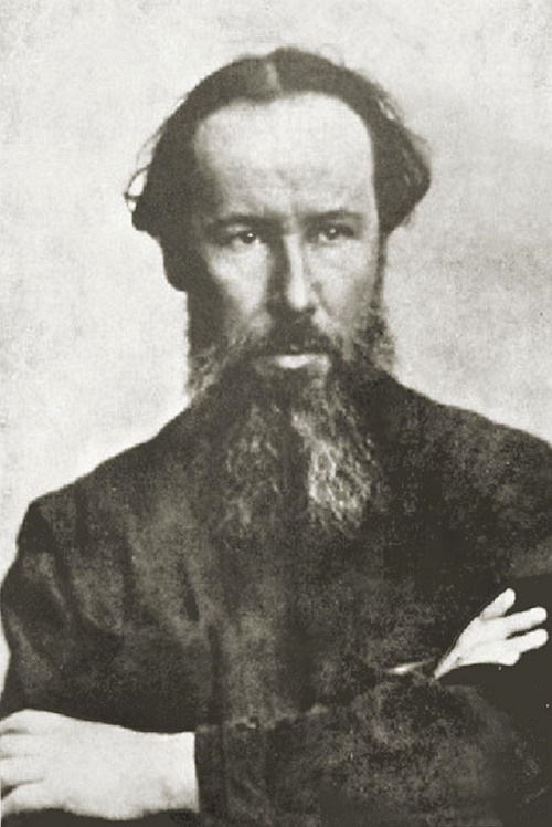 Soviet graphic artist Vladimir Favorsky (1886-1964)