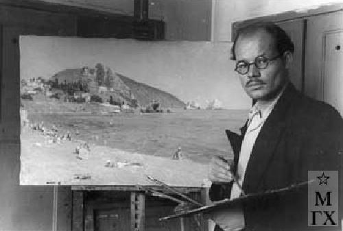 Soviet painter Victor Tsyplakov (1915-1986)