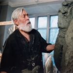 Soviet sculptor Aleksandr Kibalnikov (August 9, 1912 – September 5, 1987)