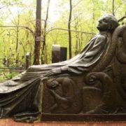 The gravestone of the patron of Nikolai Lazarevich Tarasov in the Armenian cemetery, 1911