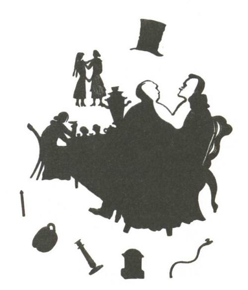 V. Favorsky. Illustration for 'Tales' by Pilnyak. Wood engraving. 1932