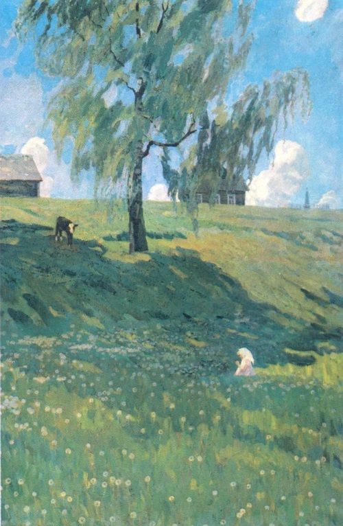 V. Sidorov. Bright day 22 June. Oil on canvas, 1978