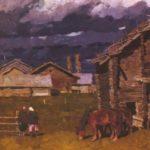 Pokrov. Oil. 1969