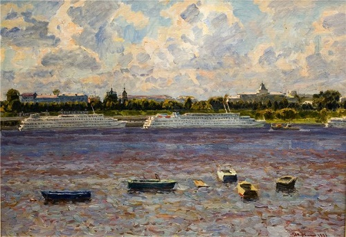 Yaroslavl. The Volga. 1991