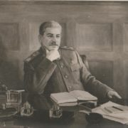 1948 portrait of Stalin. Boris Karpov (1896-1968)