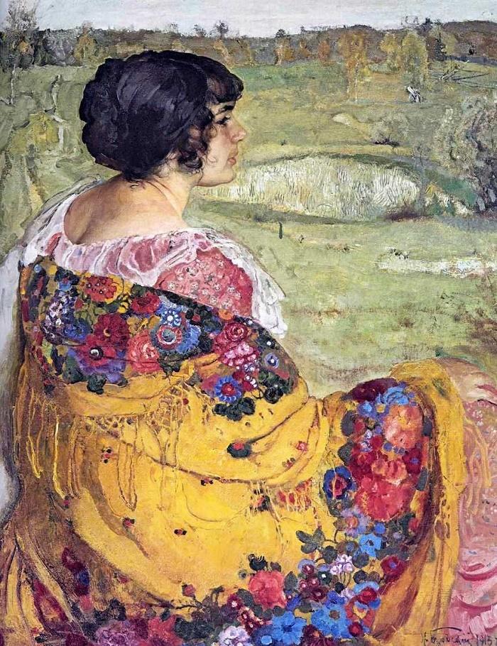 Lyubov Makarovna Bridskaya. 1913