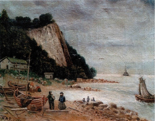 MA Romadin. Landscape. private collection